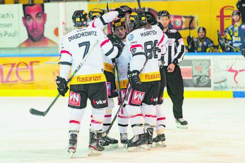 Feldkirch jubelt über den sechsten Sieg in der Qualifikationsrunde.Stiplovsek
