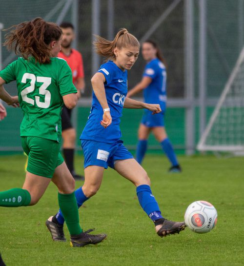 Sarah Klotz und der FC Luzern kamen nicht über ein 2:2 hinaus. Hepberger