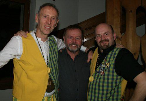 Arthur, Hubce und Barney.