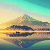 Ein Berg wie gemalt