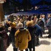 Protest am Arlberg