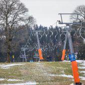 Betrieb wieder eingestellt: Am Bödele wird der Ruf nach Schneekanonen laut. A5