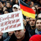 Trauermarsch in Hanau