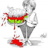 Ungenießbarer Hamburger!