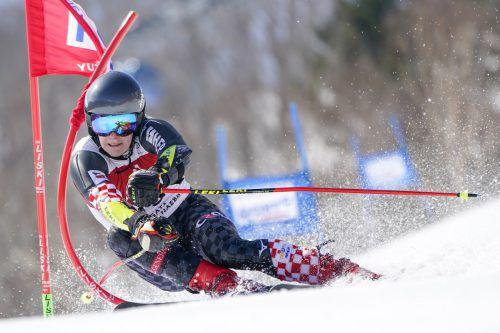 Filip Zubcic sorgte beim Riesentorlauf in Naeba für den ersten kroatischen Weltcupsieg seit Ivica Kostelic 2013.ap