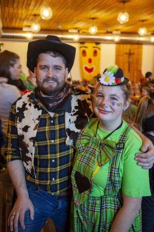Florian Noll und Melanie Wehinger freuten sich über die vielen Gäste.