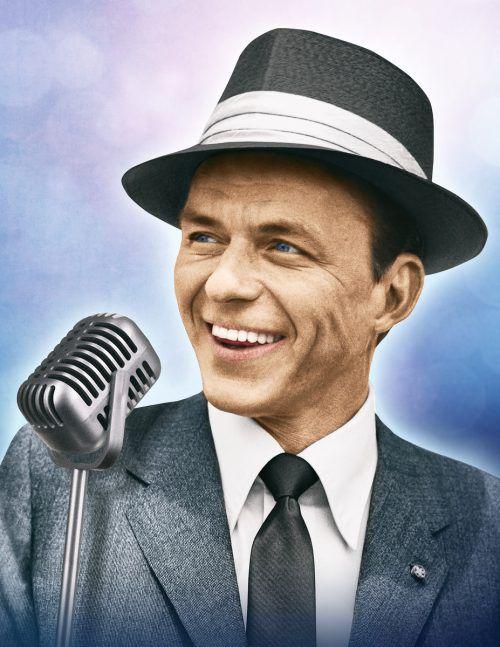 Frank Sinatra und seine Lieder sind unvergessen. veranstalter