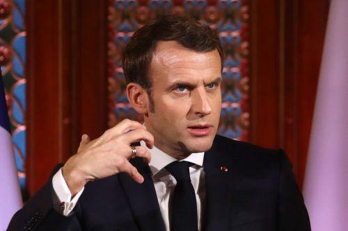 Frankreichs Präsident Emmanuel Macron ist Kritiker des bisherigen Prozederes. AFP