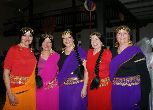 Frauen unter sich bei der Wibr-Fasnat.pe