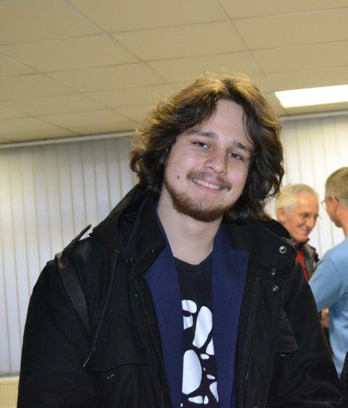 Fridays-For-Future-Aktivist Aaron Wölfling tritt für die Grünen an. BI