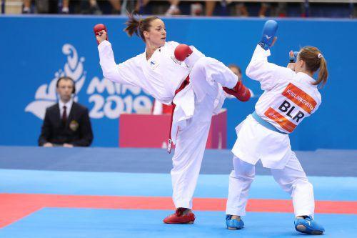 Für Bettina Plank heißt es in Dubai Punkte für das Olympiaticket zu machen.ÖKB