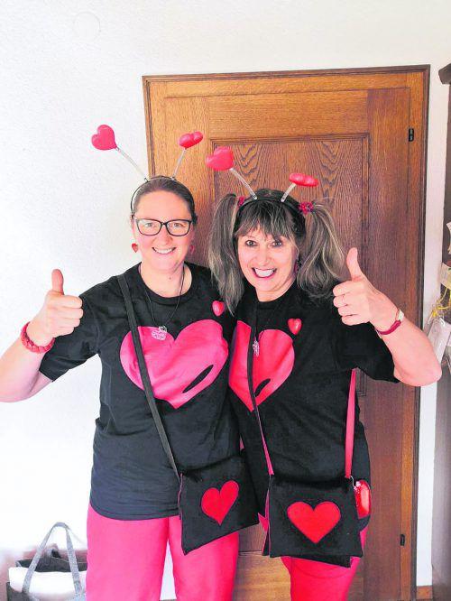 Für Rebecca und Carmen Kresser aus Wolfurt zählt nur die Liebe.Kresser