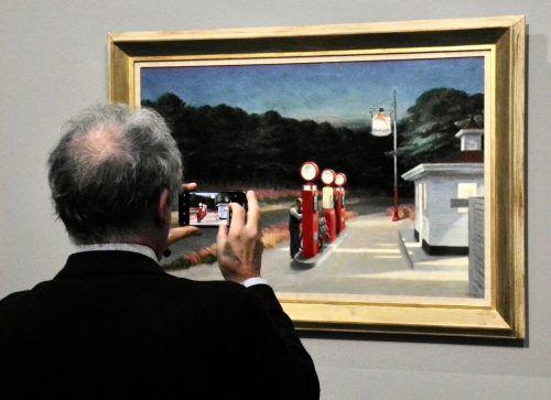 """""""Gas"""" von 1940 zählt zu den bekanntesten Gemälden."""