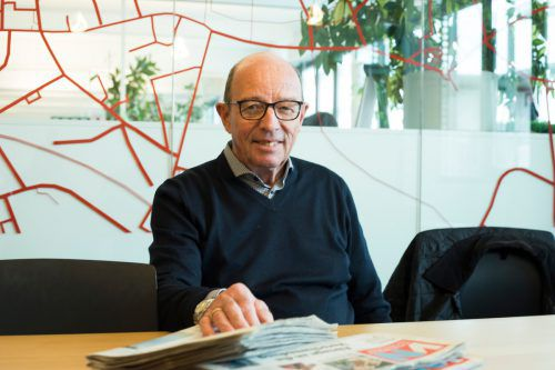Gottfried Schöckenfuchs unternimmt gerne Städte- und Kulturreisen. VN/RP