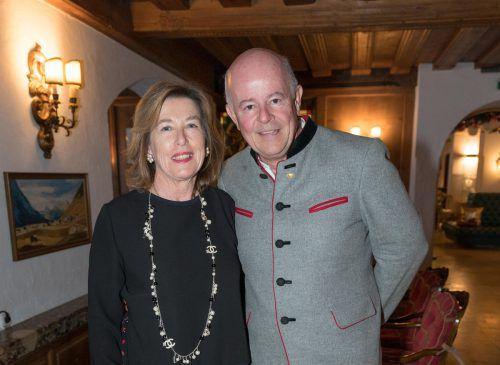 Hannes Schneider und Christiane empfingen die Gäste.
