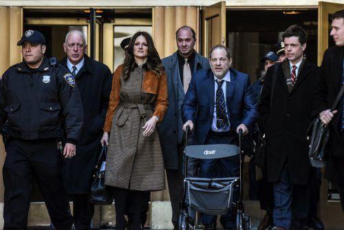Harvey Weinstein hat vieles verloren: seine Filmfirma, seinen Ruhm, seine Macht und seine Gesundheit. AFP