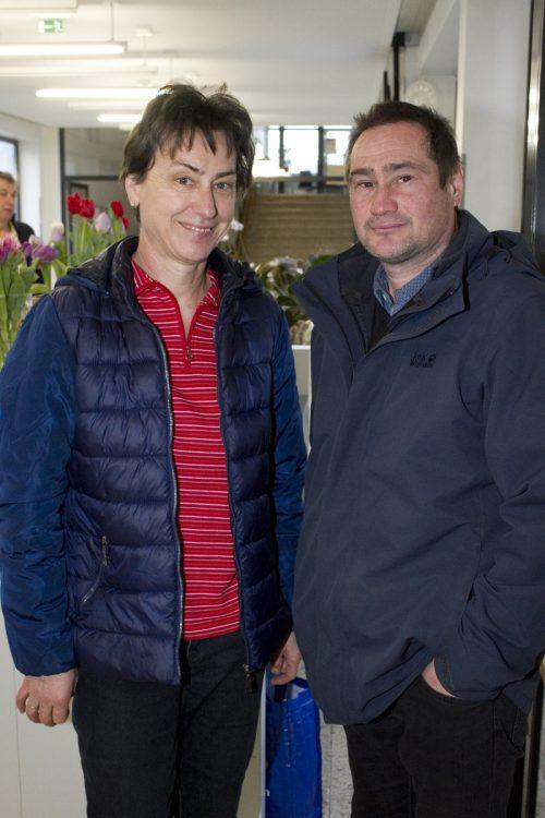 Herlinde Bösch und Gerhard Felder kamen zu den Vorträgen.