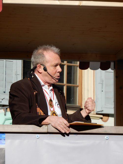 Hugo Nussbaumer hatte Verbesserungsvorschläge für die Politiker parat.