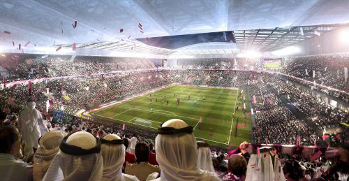 Im Lusail Iconic in Al-Dayeen wird am 21. November 2022 das Eröffnungsspiel und am 18. Dezember das Finale ausgetragen.AFP
