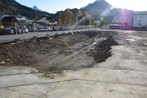 Im Rahmen der Maßnahmen sollen auch Parkflächen entstehen. stadt bludenz