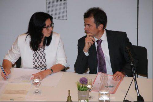 Im vergangenen Jahr räumte Martin Summer den Bürgermeistersessel in Rankweil. Ihm folgte die erste Bürgermeisterin Katharina Wöß-Krall. VN/Knobel
