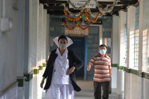 In China haben sich über 20.000 Menschen mit dem Coronavirus infiziert. AFP