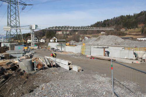 In Gais wird derzeit an der Umlegung des Dabaladabachs sowie der Errichtung eines Kleinkraftwerks gearbeitet. VN/JS