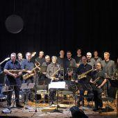 Die Big Band Walgau stellt sich dem musikalischen Minimalismus
