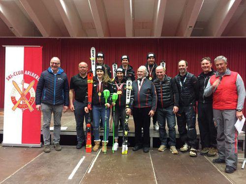 In Lech wurden die neuen Vorarlberger Meister in den Schülerkategorien gekürt. vsv