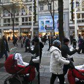 Österreich bleibt knapp unter neun Millionen Einwohner
