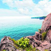 Für Wanderer und Strandliebhaber