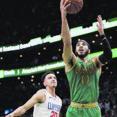 Boston gewann Krimi gegen die Clippers