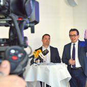 "<p class=""caption"">Jürgen Kessler und Hans Peter Metzler. VW</p>"