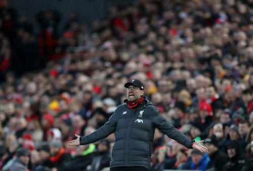 Jürgen Klopp kehrt dahin zurück, wo sein Team im Vorjahr die Champions League gewinnen konnte. Atlético Madrid soll dabei nicht zum Stolperstein für Liverpool werden.reuters