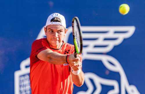 Jurij Rodionov machte mit zwei Siegen bei Challengers auf sich aufmerksam.apa
