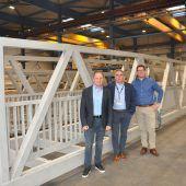 Ländle-Brücke fliegt nach Deutschland