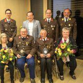 Drei Florianis wurden zu Ehrenmitgliedern