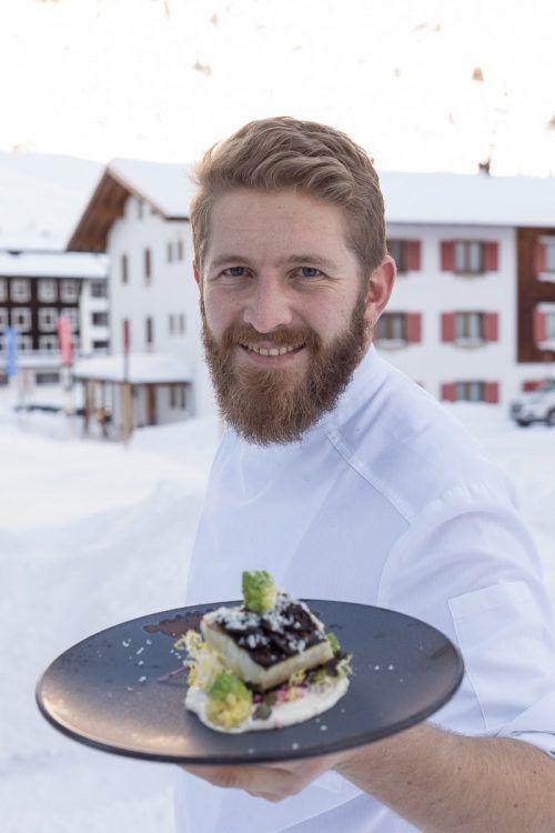 """Küchenchef Franz Hintermaier zaubert in der """"Ente von Zürs"""". superiorhotels"""
