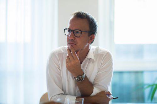 """Landesrat Gantner meldete sich mit """"Bauer Anton"""" zu Wort.VN"""