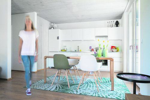 Leistbar wohnen im Stufenkauf – RIVA Home schafft in Altach smarten Wohnraum.foto: RIVA Home
