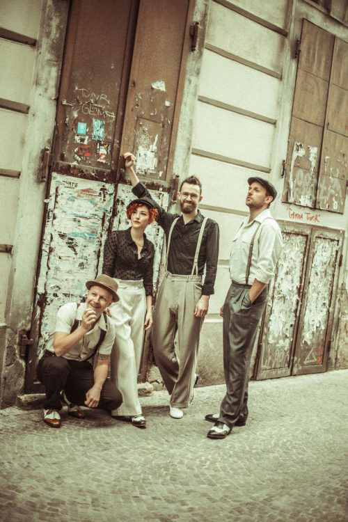 Marina & The Kats swingen erfrischend modern.               Carina Antl