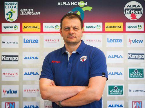 Mario Bjelis ist ab Sommer Cheftrainer des Alpla HC Hard.Verein
