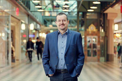 Messepark-Geschäftsführer Burkhard Dünser freut sich über eine positive Bilanz für das vergangene Jahr 2019. Der Umsatz wurde um 1,1 Prozent gesteigert. Messepark