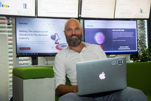 Michael Breidenbrücker, u.a Mitbegründer des Internetradios last.fm, ist Geschäftsführer von Senseforce. Das Unternehmen wurde 2016 gegründet. VN/PAulitsch