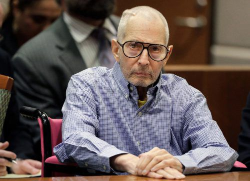 Millionär Robert Durst muss sich vor Gericht verantworten.AP