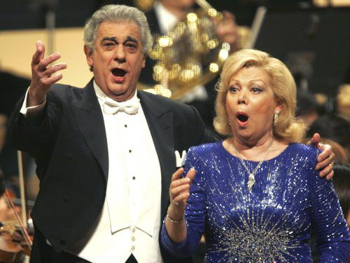 Mirella Freni stand auch mit Placido Domingo auf der Bühne. AP