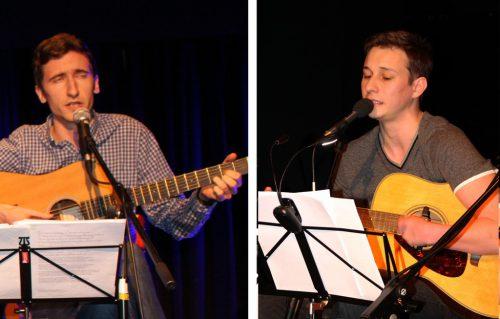 Mit Florian Wirthensohn und Michael Lipburger stellten sich zwei weitere vielversprechende Musiktalente im Thalsaal vor.