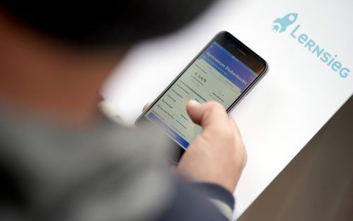 """Mitte November 2019 wurde die umstrittene App """"Lernsieg"""" präsentiert. APA"""