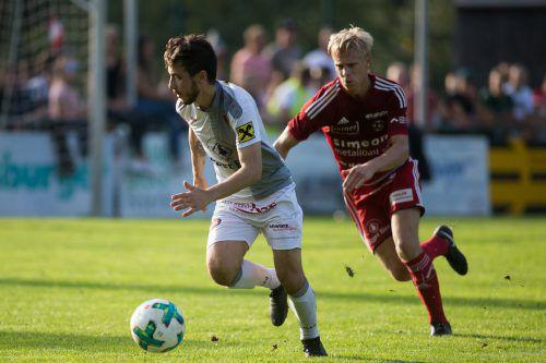 Murat Bekar (links) wechselte von Egg nach Bezau.Steurer
