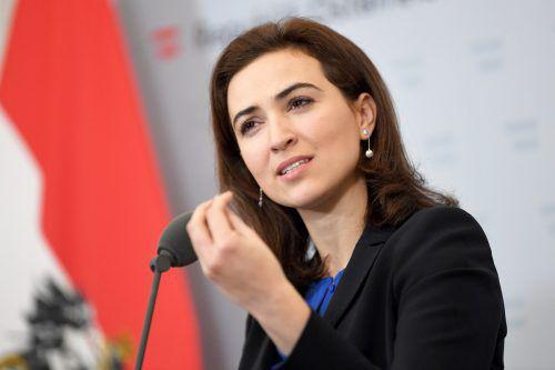 Nach dem Sparkurs kündigt Justizministerin Zadić mehr Budget für die Justiz an.APA